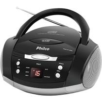 Rádio com CD. MP3. FM. Potência 3.4W RMS e Entrada Auxiliar Philco PH61