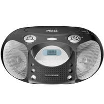 Rádio Com CD Philco PB120N, MP3, FM, USB, 4W RMS