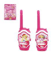 Rádio comunicador walkie talkie infantil glam girls - Wellmix