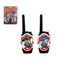 Rádio comunicador walkie talkie infantil hero squad - Wellmix