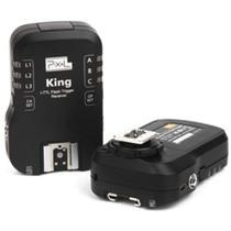 Rádio Flash com Transmissor e Receptor TTL Wireless para DSLR Nikon - Pixel