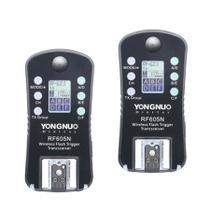 Rádio Flash Yongnuo Rf-605 Wireless Para Nikon -