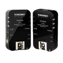 Rádio Flash Yongnuo YN-622n II TTL Wireless para Nikon -