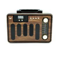 Radio Fm Am Bluetooth Bivolt Relogio Pendrive Aux Antena Usb - Altomex