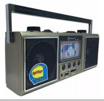 Rádio Fm/am/sw1-9/usb/sd Livstar Cnn-752u 11 Bandas Excelente Qualidade -