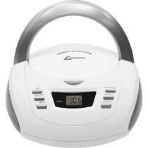 Radio Lenoxx BD112 C/Cd Player/ Radio Am/Fm/ Entrada Auxiliar Branco e Prata -