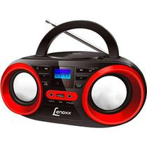 Rádio Lenoxx BD129 CD Player FM Estéreo MP3 e USB - Preto