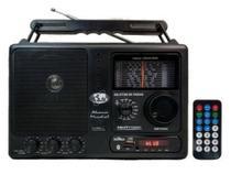 Rádio Motobras 12 Faixas Com USB Bluetooth e Controle Remoto - Motobrás