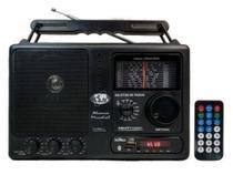 Rádio Motobras 12 Faixas Com USB Bluetooth e Controle Remoto -