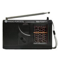 Rádio Motobras 7 PSMP 71 Pilha FXS -