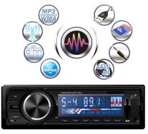 Rádio Mp3 Automotivo Com Usb Sd Bluetooth 50w 3566bt - Dex