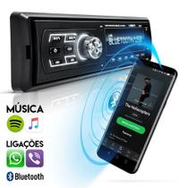 Radio MP3 Bluetooth FM USB SD Automotivo Controle - Uberparts