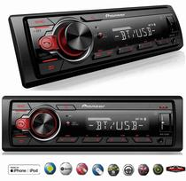 Radio Mp3 Bluetooth Pioneer Mvh-s218bt Usb Modelo 2019 -
