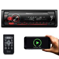 Rádio MP3 Player Automotivo Pioneer MVH-S118UI Interface UBS Android Iphone MixTrax AM FM -