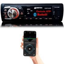 Rádio MP3 Player Automotivo Tiger 1 Din com USB SD AUX RCA FM Bluetooth - Tiger Auto