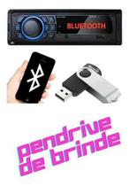 Radio Mp3 Player Usb Multilaser Bluetooth Aparelho Som Carro -