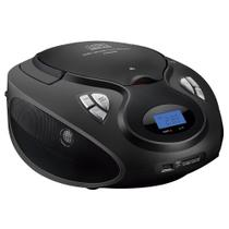 Rádio Multilaser Boombox SP178 Preto, USB, CD, FM, SD, Bivolt - 20Wrms