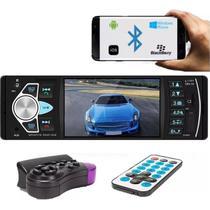 Radio Multimidia Mp5 Bluetooth Tela 4 1 Din Mp3 Mp4 Usb Sd - World Comp