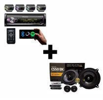 Radio Pioneer MVHX7000 + Kit 2 Vias Bravox CS50BK - Pioneer/Bravox