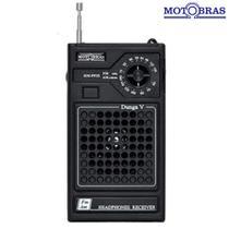 Rádio Portátil 2 Faixas AM e FM RM-PF25 - Motobras -