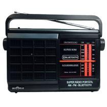 Rádio Portátil 2 Faixas AM/FM com Bluetooth-RM-PSMPBT21AC-Motobras - Motobrás