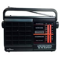Rádio Portátil 2 Faixas AM/FM com Bluetooth-RM-PSMPBT21AC-Motobras -