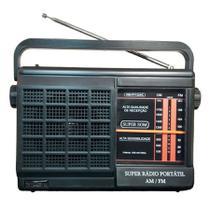 Rádio Portátil 2 Faixas AM/FM Dungão Motobras -