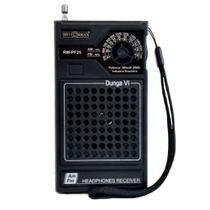 Rádio Portátil 2 Faixas AM-FM Preto RM-PF25 - Motobras -