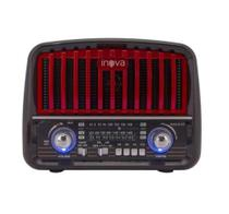 Rádio Portátil 3 Bandas AM/FM/USB/SD/TF 8392-Inova -