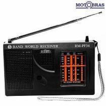Rádio Portátil 3 Faixas Rm-Pf 34  Motobras -