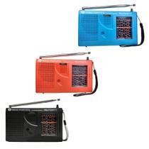 Rádio Portátil  7 Faixas - (FM1 + FM2 + OM + 4 OC) -  Motobras -