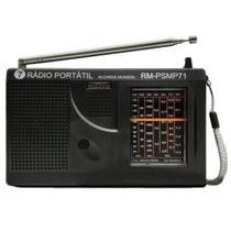 Rádio portátil 7faixa RM-psmp71 - Motobrás