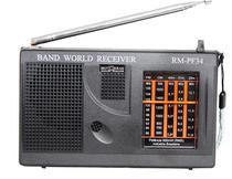 Rádio Portátil Am E Fm 5 Faixas Band World Motobras Rm-pf34 -