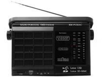 Rádio Portátil AM/FM 3 Faixas RM-PU 32AC - Motobras - Motobrás