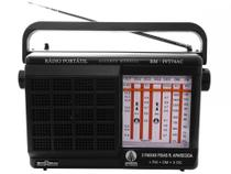 Rádio Portátil AM/FM 7 faixas RM-PFT 74AC - Motobras - Motobrás
