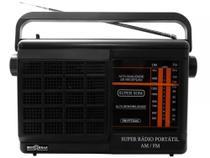 Rádio Portátil AM/FM RM-PFT 22AC - Motobras - Motobrás