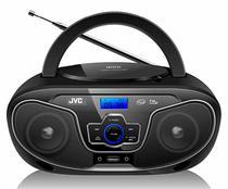 Rádio Portátil Bluetooth Cd Player Jvc Usb -