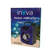Rádio portátil bluetooth inova -