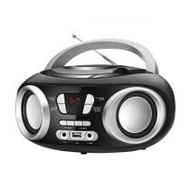 Rádio Portátil Boom Box FM e CD Player Mondial