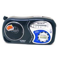 Rádio Portátil de Bolso Am Fm com Relógio - Hmik