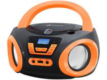 Rádio Portátil Lenoxx 6W CD Player  - Display Digital BD 121 PL Boombox Entrada USB