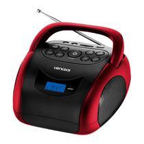 Rádio Portátil Lenoxx BD-150 Boombox 4W de potência rms, Bluetooth, Display Digital, Rádio FM e Função MP3 -