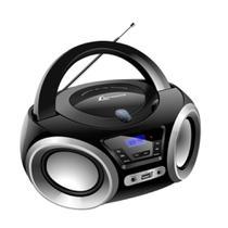 Rádio Portátil Lenoxx Boombox BD 1370 5W CD Player e Display Digital -