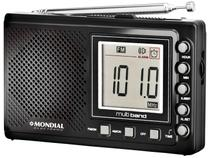 Rádio Portátil Mondial AM/FM  - 10 Faixas c/ Display Digital RP-03
