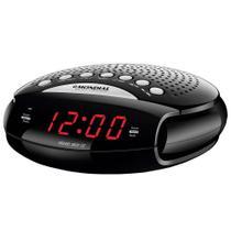 Rádio Portatil Mondial Sleep Star III, Rádio AM/FM, Funções Relógio e Alarme, 5W -