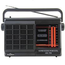 Rádio Portátil Motobrás 2FXS AM FM RMPFT21AC/22AC -
