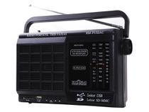 Rádio Portátil Motobrás 7 Faixas com Bluetooth, USB, TF Card, Controle Remoto - Preto - RMPU32AC - Motobras