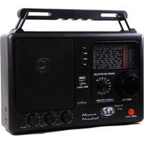 Rádio Portátil Motobras 8 Faixas Rm-pusm81ac Am/fm Usb -