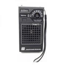 Rádio Portátil Motobrás RM-PF25 AM/FM - 2 Faixas, Dunga VI, à Pilha - Motobras