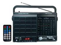 Rádio Portátil -- Pilha e Luz -- MOTOBRÁS --  7 Faixas -- USB/Bluetooth -- RM-PU32AC -